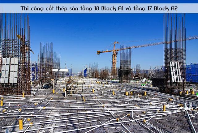 thi-cong-cot-thep-san-tang-18-block-a1-va-tang-17-block-a2