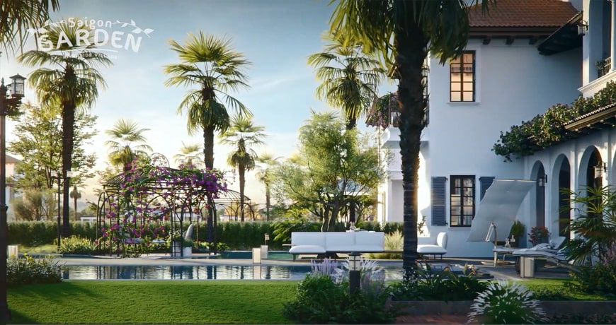 thông tin dự án biệt thự vườn triệu đô saigon-garden