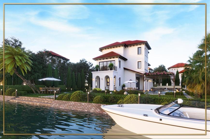 Biệt thự Saigon Garden Riverside Villas ẩn mình cùng thiên nhiên