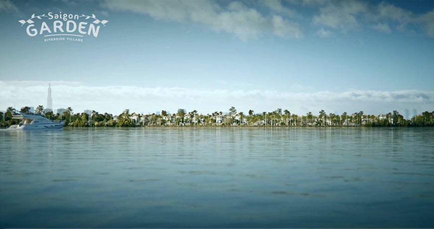 Biệt thự ven sông Hưng Thịnh cùng những tiện ích hoàn hảo