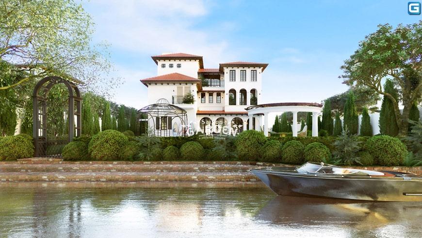 Biệt thự ven sông nghỉ dưỡng không chỉ là nơi để ở