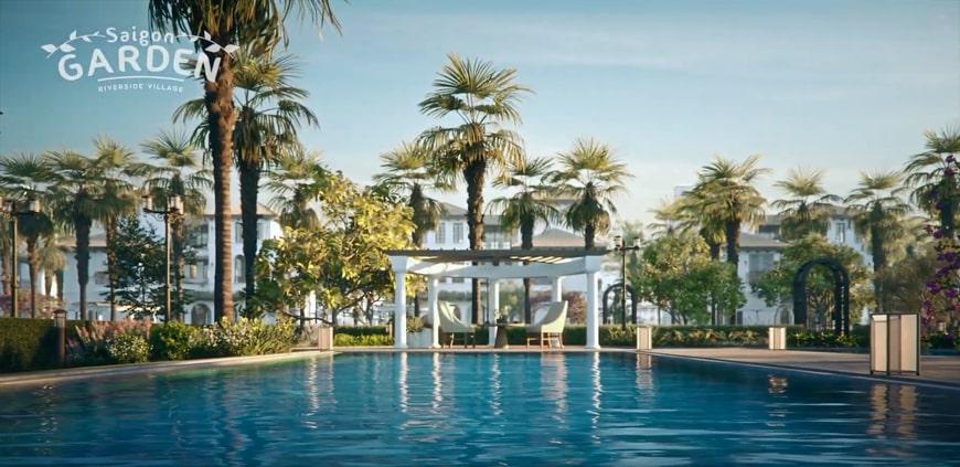 Khu biệt thự Saigon garden riverside villas