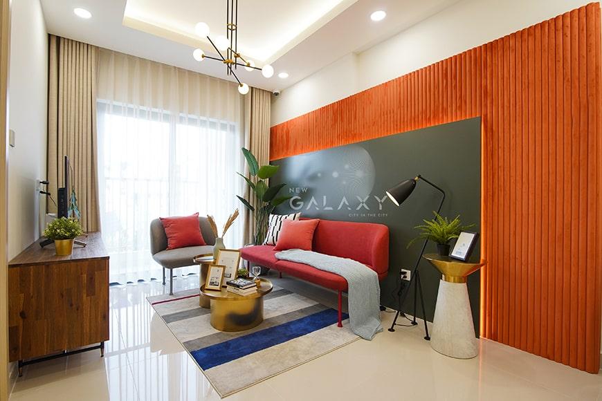 Phòng khách New Galaxy Bình Dương