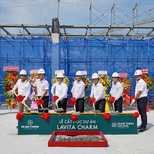 Lễ cất nóc dự án Lavita Charm