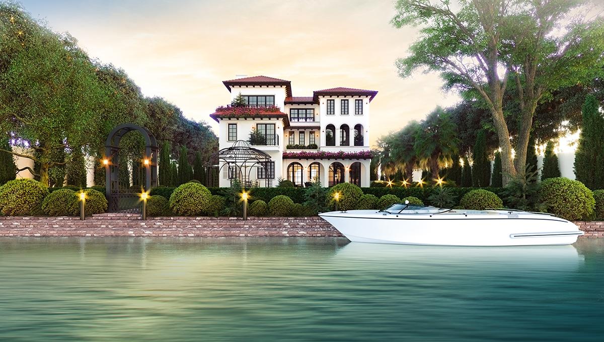 Biệt thự ven sông cùng những tiện ích hoàn hảo của Hưng Thịnh