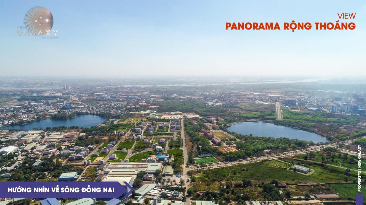 Hướng nhìn về sông Đồng Nai