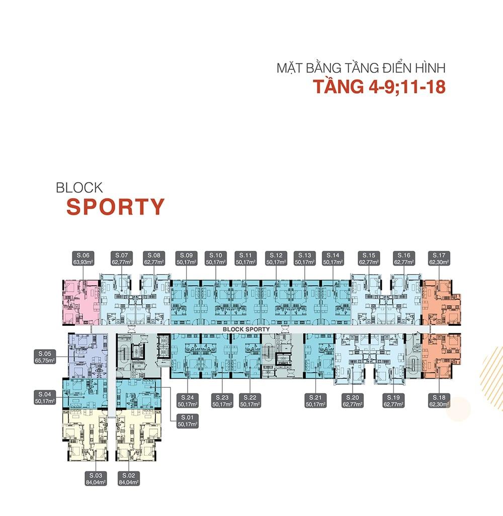 mat bang tang 4-9 sporty