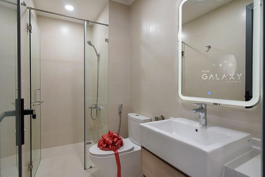 Nhà vệ sinh căn hộ 1PN New Galaxy