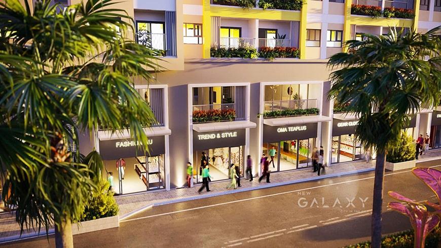 Shophouse New Galaxy Bình Dương