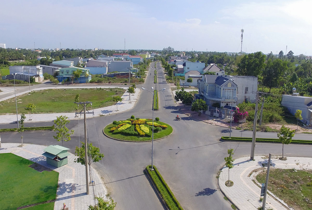 vong xoay vinh long new town