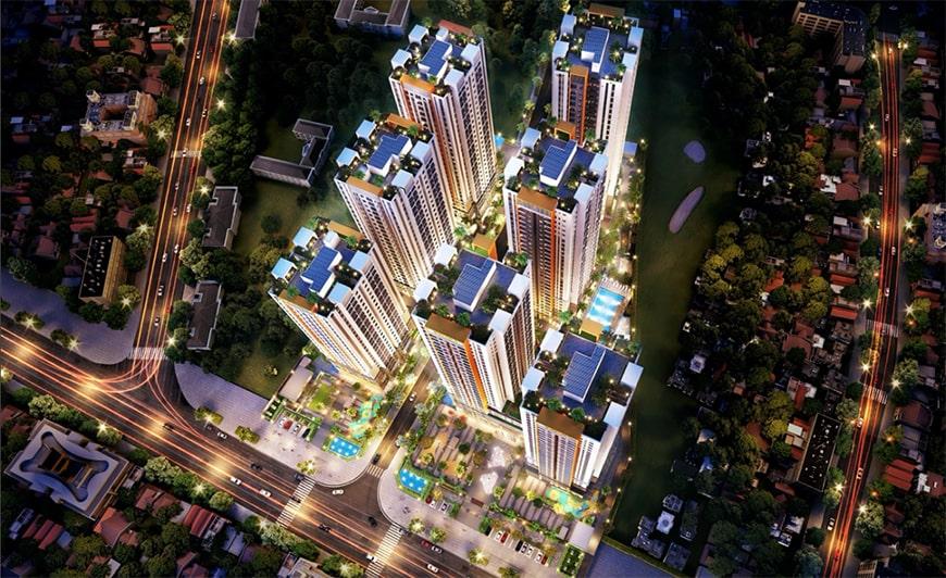 Phối cảnh dự án căn hộ Bien Hoa Universe Complex
