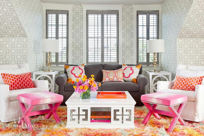 Khu khách đầy màu sắc của Janie Molster