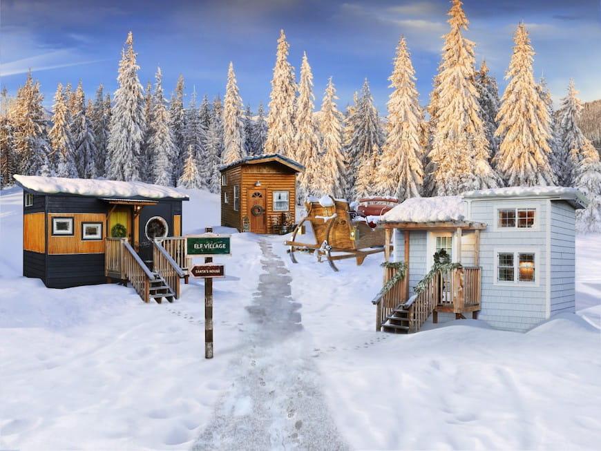 Câu chuyện chưa kể về những ngôi nhà nhỏ, thẳng từ Bắc Cực
