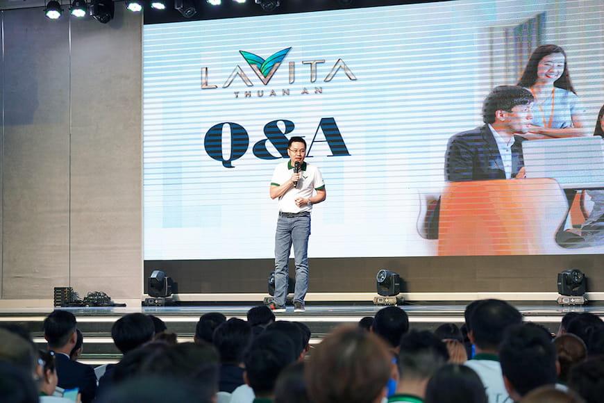 Ông Đoàn Thanh Ngọc chia sẻ thêm nhiều thông tin hấp dẫn về dự án Lavita Thuan An