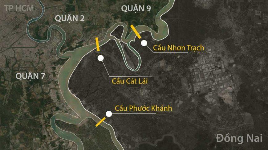 Năm 2021 khởi công Dự án xây dựng cầu Nhơn Trạch nối TP.HCM và Đồng Nai