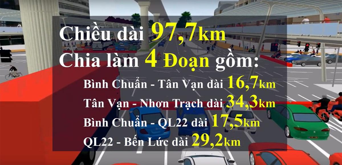 tong the cac doan duong vanh dai 3 - Năm 2021 khởi công Dự án xây dựng cầu Nhơn Trạch nối TP.HCM và Đồng Nai