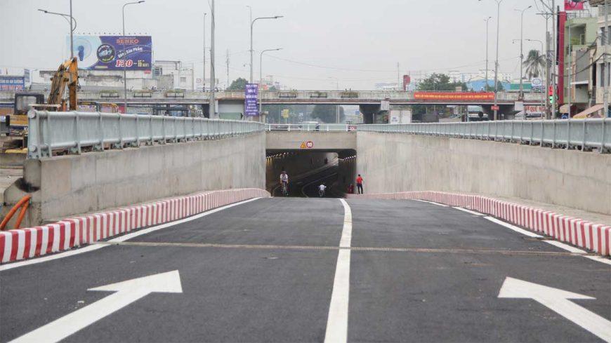 Hầm chui An Sương chính thức thông xe đòn bẩy cho thị trường địa ốc quận 12