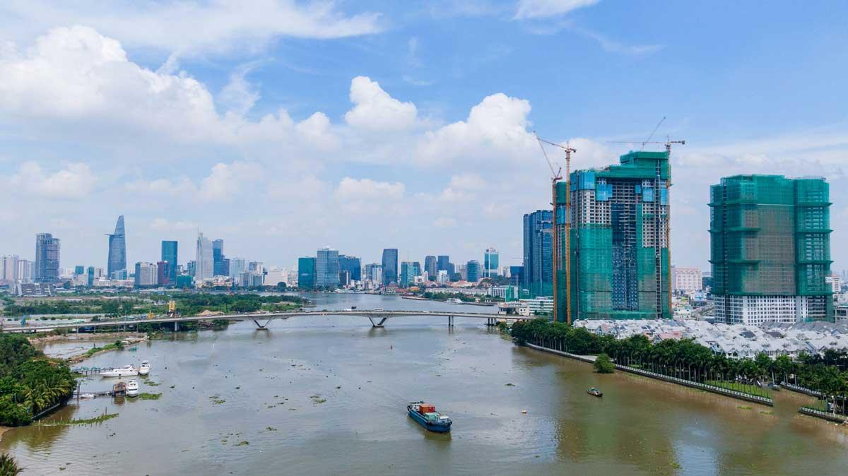 bat dong san ven song sai gon se tang gia dot bien - Dự án đường đại lộ ven sông Sài Gòn