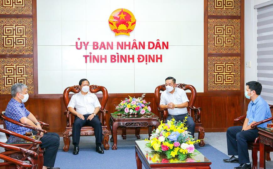 Tập đoàn Hưng Thịnh cùng tỉnh Bình Định ứng phó với Covid-19