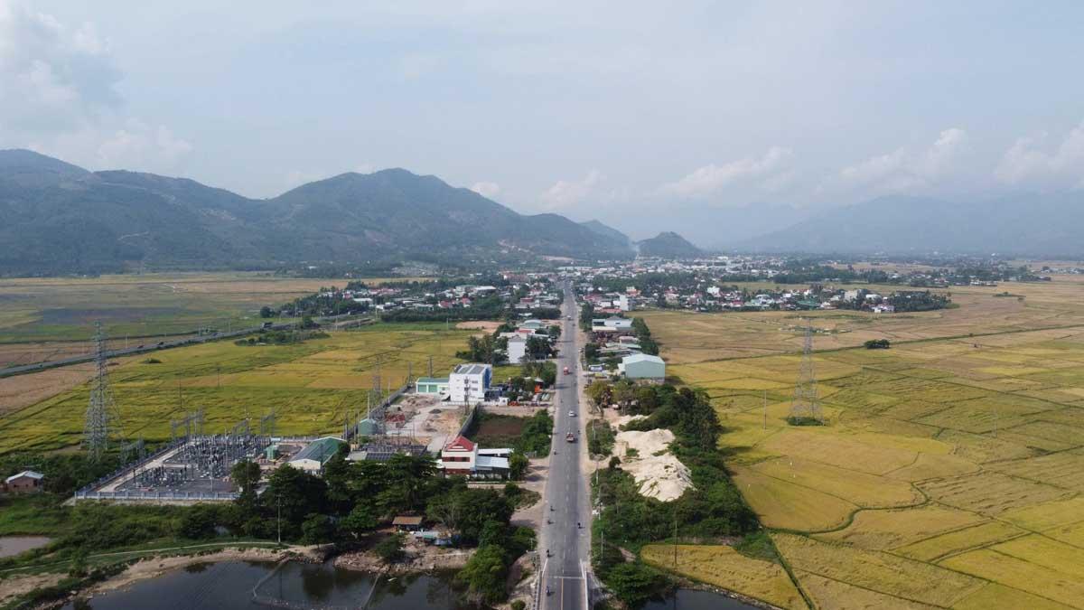 Tuyen duong tu Nha Trang di Da Lat hien tai - Tuyến Cao tốc Đà Lạt - Nha Trang
