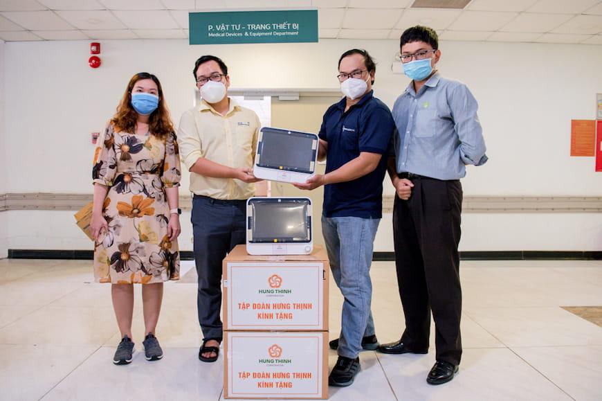 Tập đoàn Hưng Thịnh hỗ trợ hàng chục tỷ đồng cho TP.Hồ Chí Minh phòng, chống dịch Covid-19