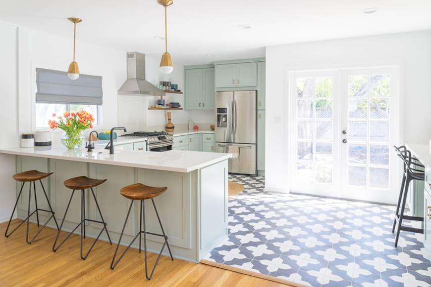 Caitlin Murray's Minty Fresh Kitchen Revamp