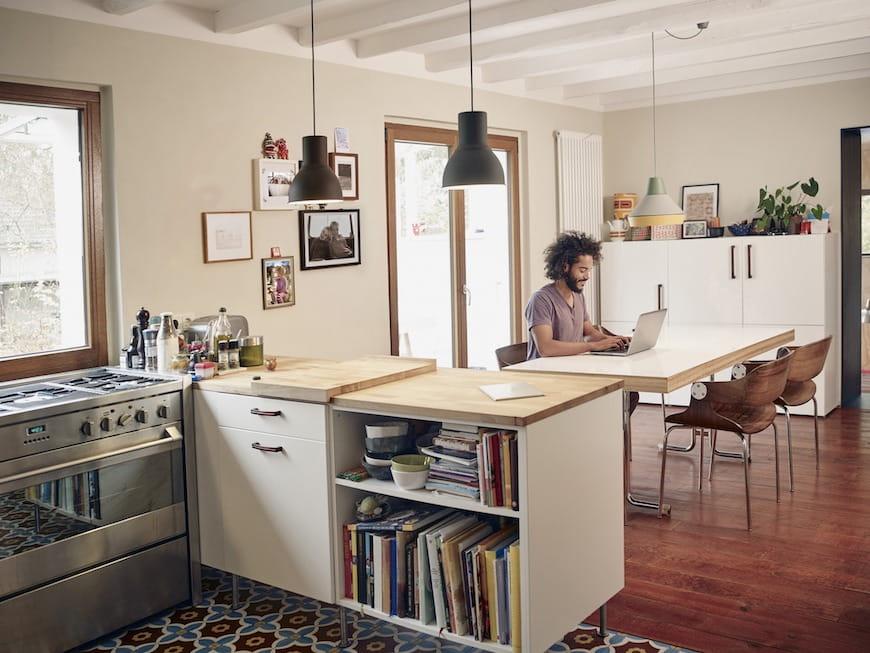 5 Cách Để Văn Phòng Tại Nhà Của Bạn Hoạt Động (Ngay Cả Khi Đó Là Nhà Bếp Của Bạn)