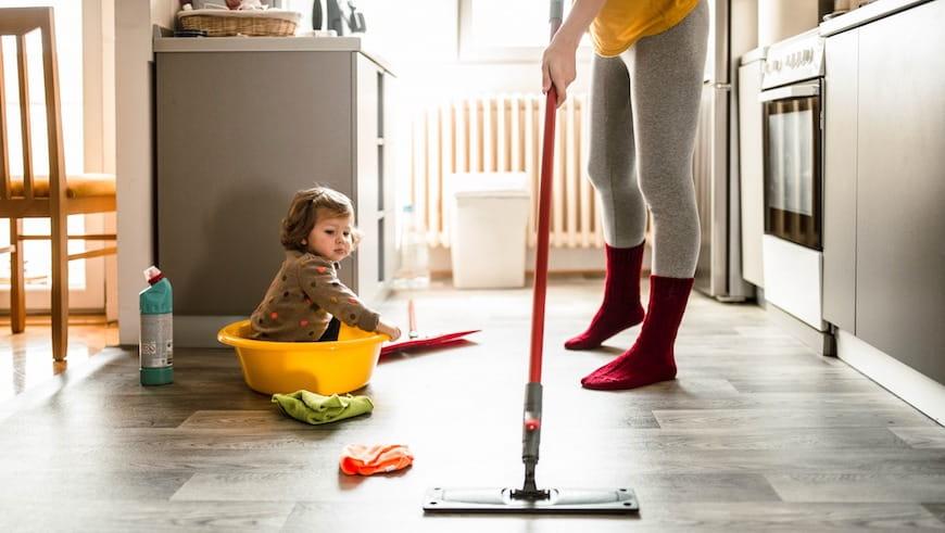 Cách Giữ Nhà Sạch Sẽ Khi Làm Việc Ở Nhà