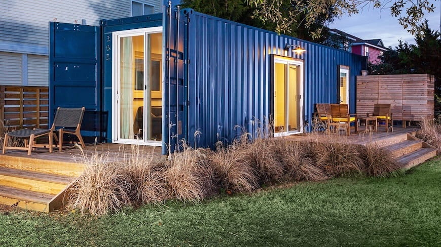 Container vận chuyển nhỏ, phong cách lớn – Ngôi nhà của tuần