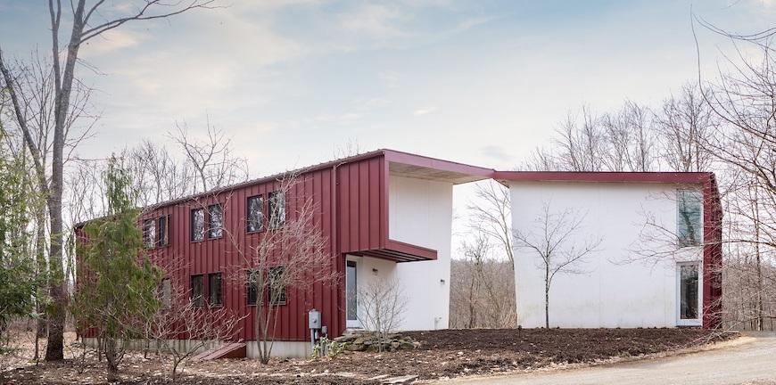 Nhà lắp ghép kiểu dáng đẹp đáp ứng Rustic Red Barn – Ngôi nhà của tuần
