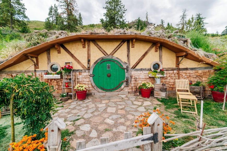 Ngôi nhà Hobbit này sẽ khiến bạn mơ đến Trung địa