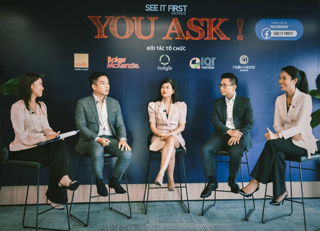 """Trực tuyến hội thảo chương trình """"You Ask!"""" with the góp mặt của các chuyên gia đầu ngành bất động sản"""