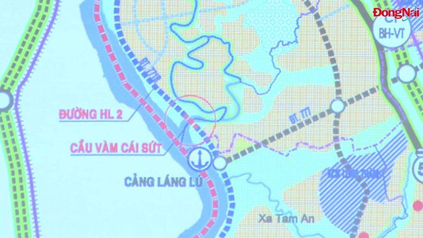 Khởi công xây dựng cầu Vàm Cái Sứt sông Đồng Nai