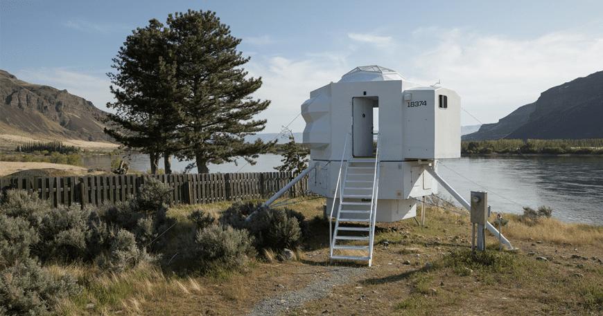 Ngôi nhà nhỏ này đã sẵn sàng cho không gian bên ngoài
