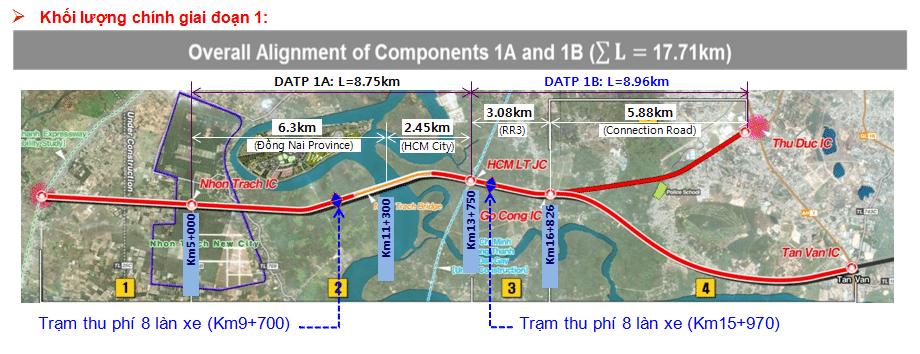So do tuyen Tan Van Nhon Trach - Năm 2021 khởi công Dự án xây dựng cầu Nhơn Trạch nối TP.HCM và Đồng Nai
