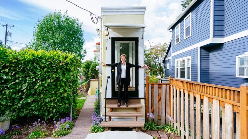 Đây là ngôi nhà nhỏ lạ nhất mà bạn từng thấy