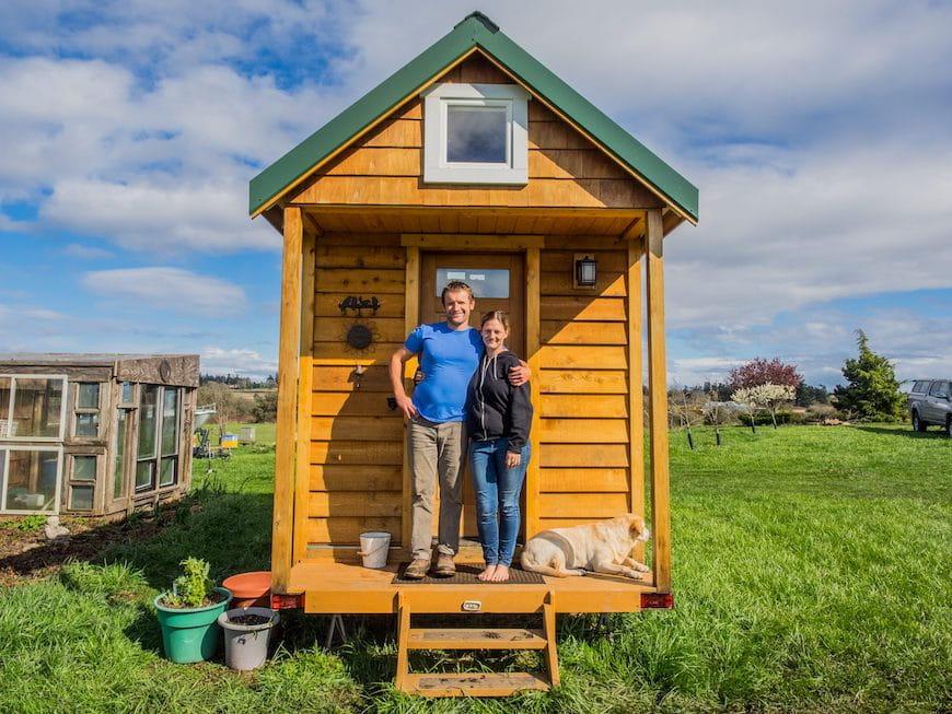 Bạn có thể sống 'tí hon'?  Xem cách một cặp vợ chồng ở Seattle tìm thấy căn phòng cho giấc mơ của họ