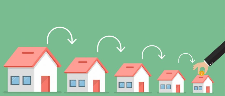 Dưới đây là 5 điều bạn cần làm để thu nhỏ diện tích nhà