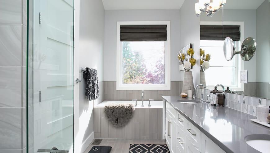 10 cách để biến phòng tắm nhỏ trông to hơn