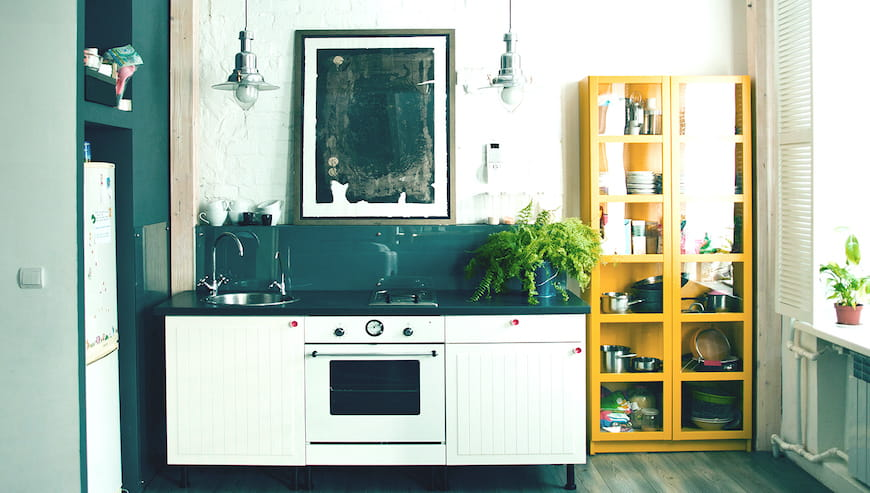 Nhà bếp nhỏ?  Hãy thử 9 mẹo này để tận dụng tối đa không gian hạn chế của bạn