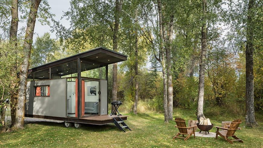 Ngôi nhà nhỏ kiểu công nghiệp dành cho cuộc sống ngoài trời – Ngôi nhà của tuần