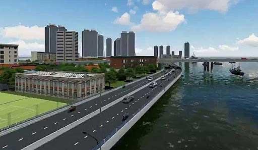 Dự án đường đại lộ ven sông Sài Gòn