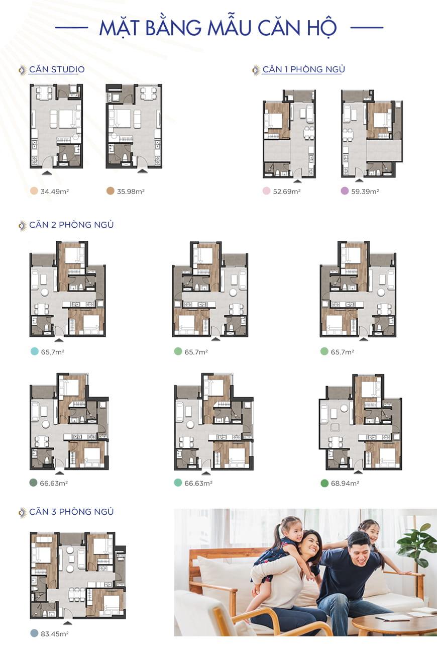 Mẫu căn hộ dự án Hưng Thịnh Tên Lửa Bình Tân