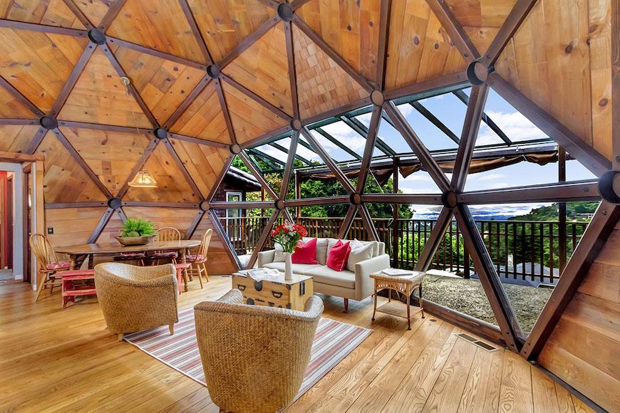 Một mái vòm được xây dựng bằng tay – Ngôi nhà của tuần