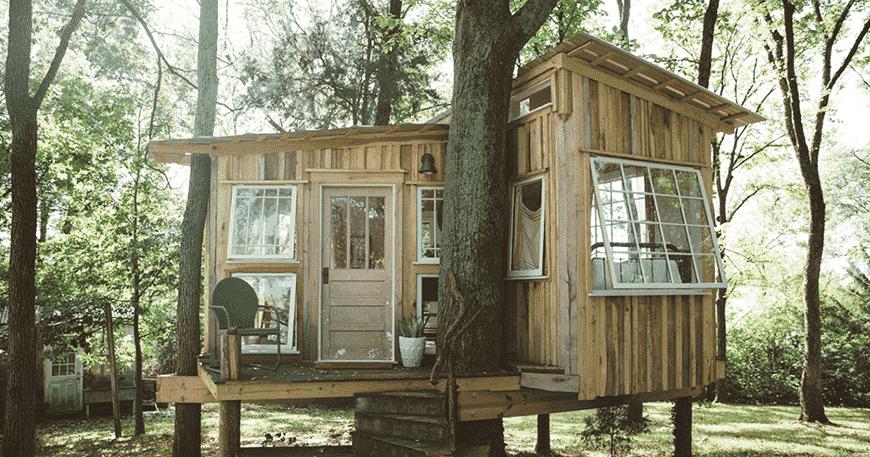 Ngôi nhà trên cây ở Nashville này sẽ khiến bạn chìm đắm trong ánh sáng – Ngôi nhà của tuần