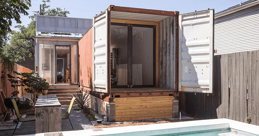 Căn nhà container vận chuyển đôi này có niềm vui gấp đôi – Ngôi nhà của tuần