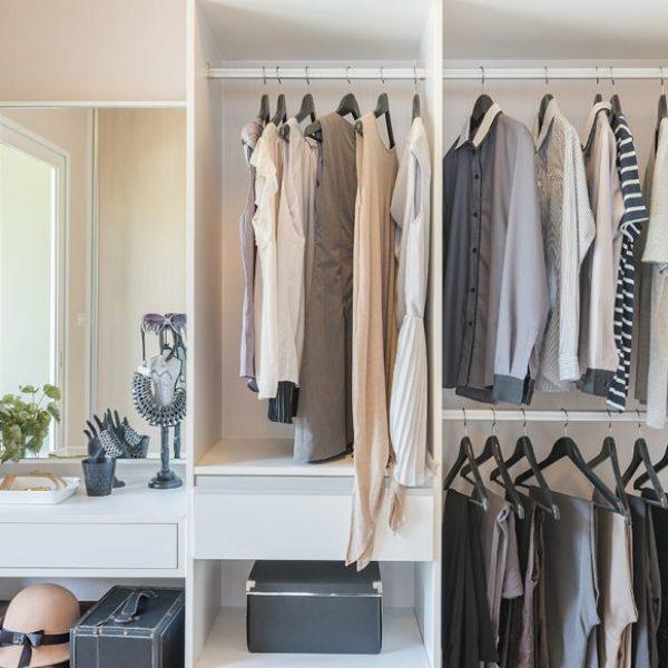 5 lời khuyên để dọn dẹp tủ quần áo của bạn trong một ngày