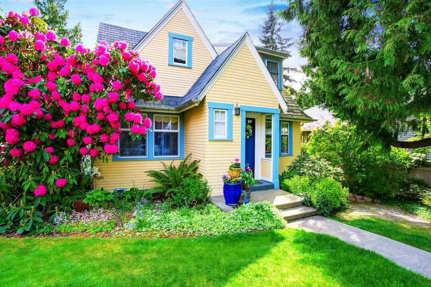 Những ngôi nhà có phòng tắm màu xanh lam được bán với giá $ 5,440 cao hơn dự kiến