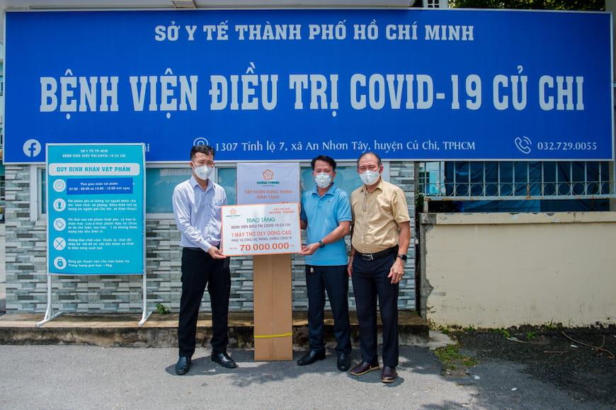 Tập đoàn Hưng Thịnh cùng TP.HCM chống dịch Covid-19
