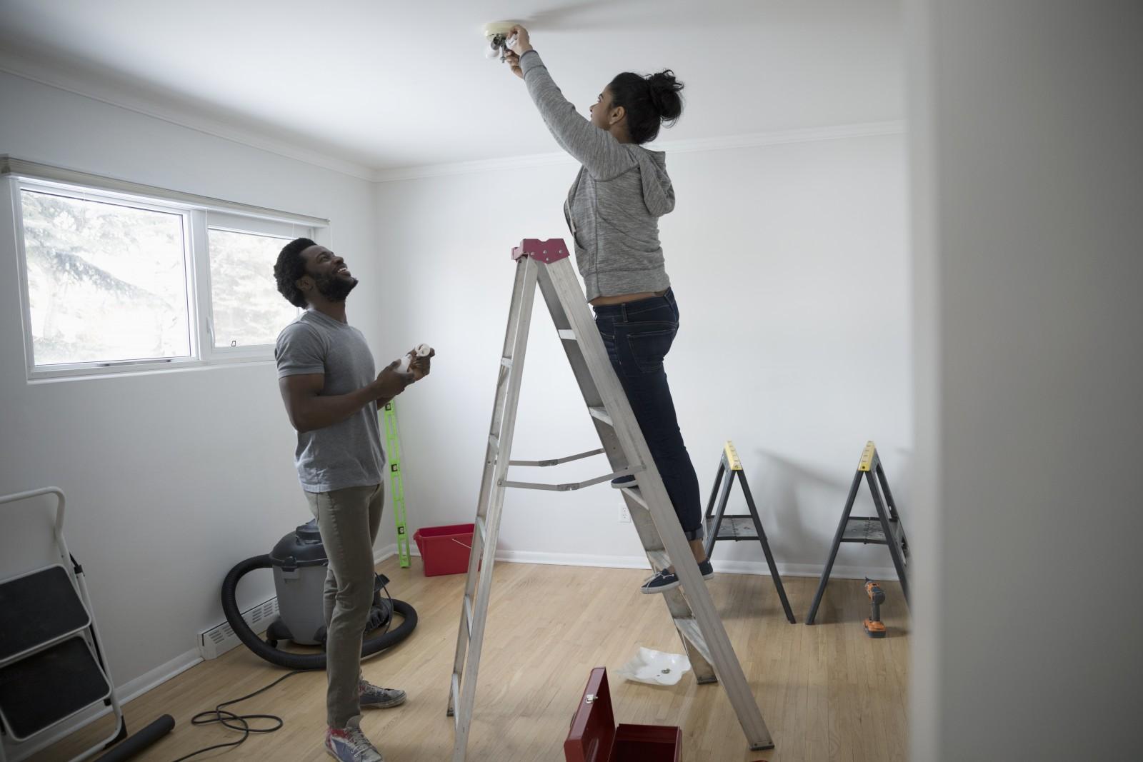 Cách thay đổi đèn cố định – Hướng dẫn tự làm dễ dàng